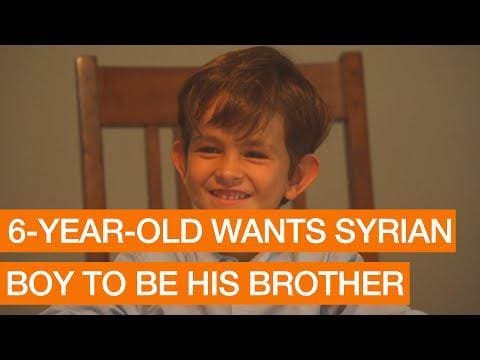 YOUTUBE: Six Year Old Wants Syrian Boy to be His Brother Package September 21