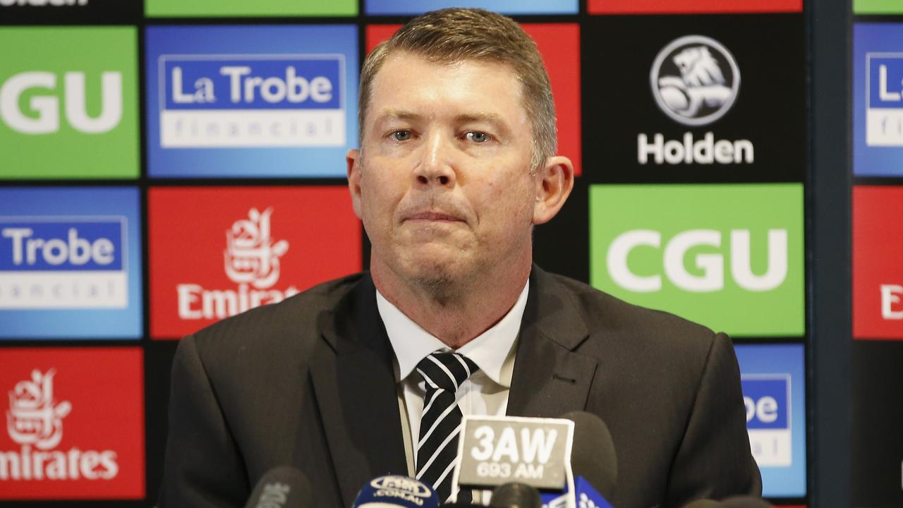 Former Collingwood CEO Gary Pert has taken on the same role at Melbourne. (Photo by Darrian Traynor/Getty Images)