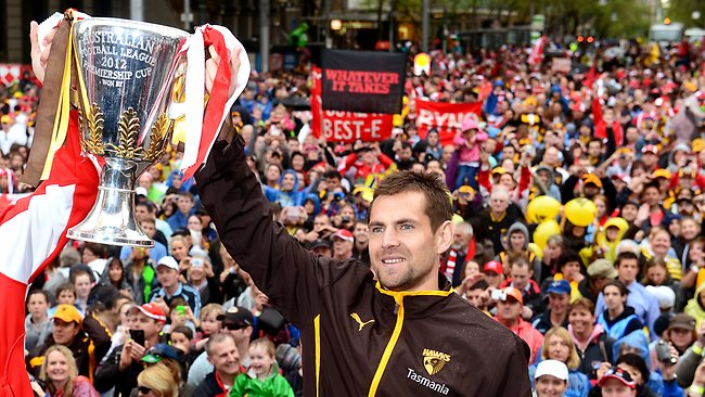 Grand Final parade,Luke Hodge, Picture: Wayne Ludbey