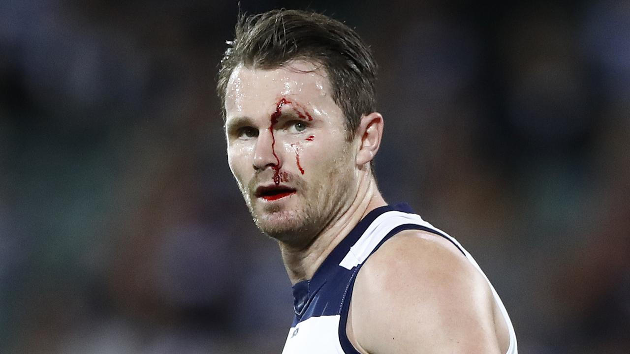 Geelong are fighting to keep their season alive after a loss to Port Adelaide (Photo by Ryan Pierse/Getty Images).