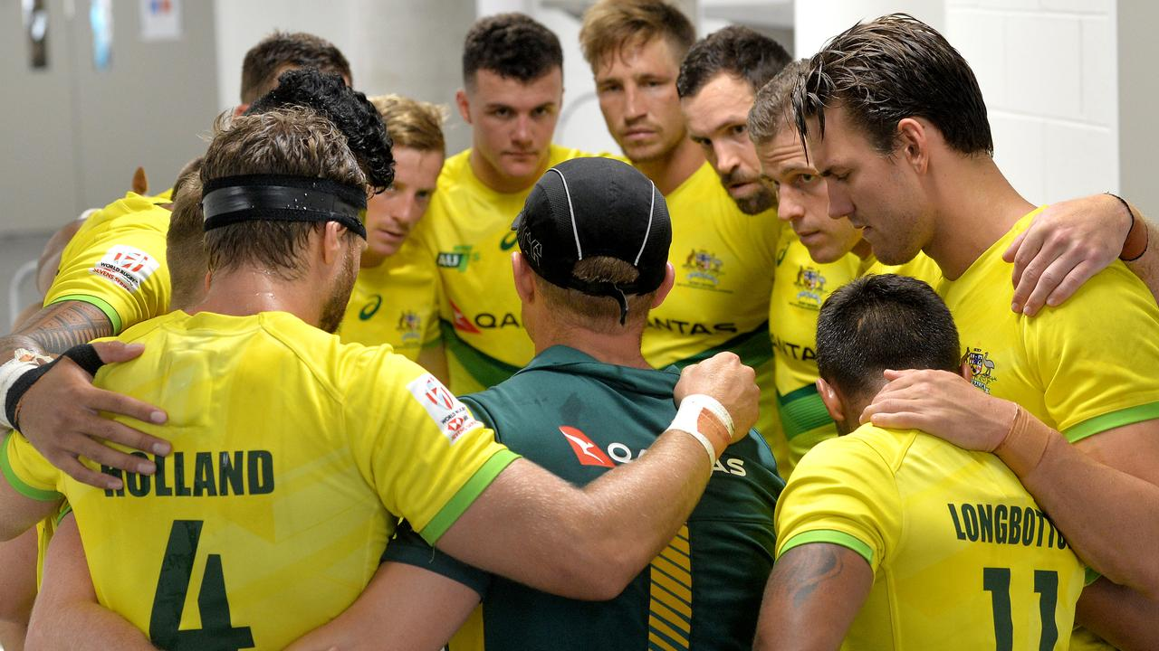 Australia's men's sevens coach Tim Walsh says the postponement of two stages won't derail his side's Olympic plans.