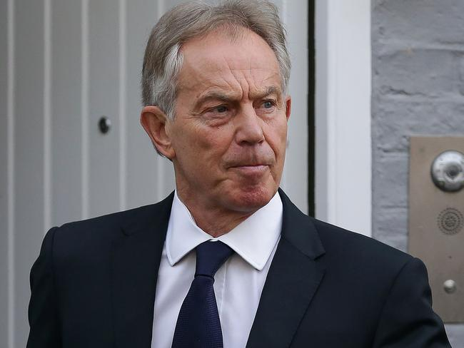 Former British Prime Minister Tony Blair responded to the Chilcot report. Picture: AFP