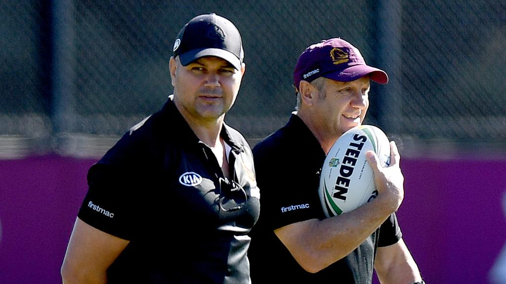 Anthony Seibold has given his assistant coaches, including Peter Gentle, more responsibility. Picture: Getty Images