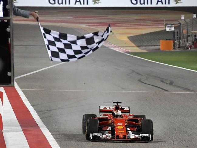 The chequered flag is back.