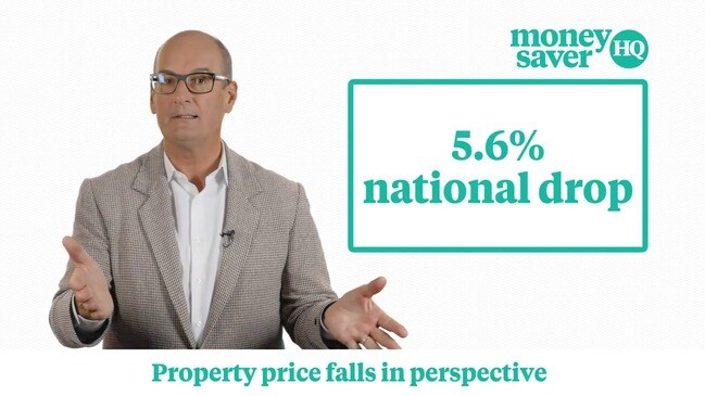 David Koch puts property price falls in perspective
