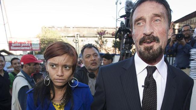 John McAfee thinks any apps asking for too much access are troublesome.