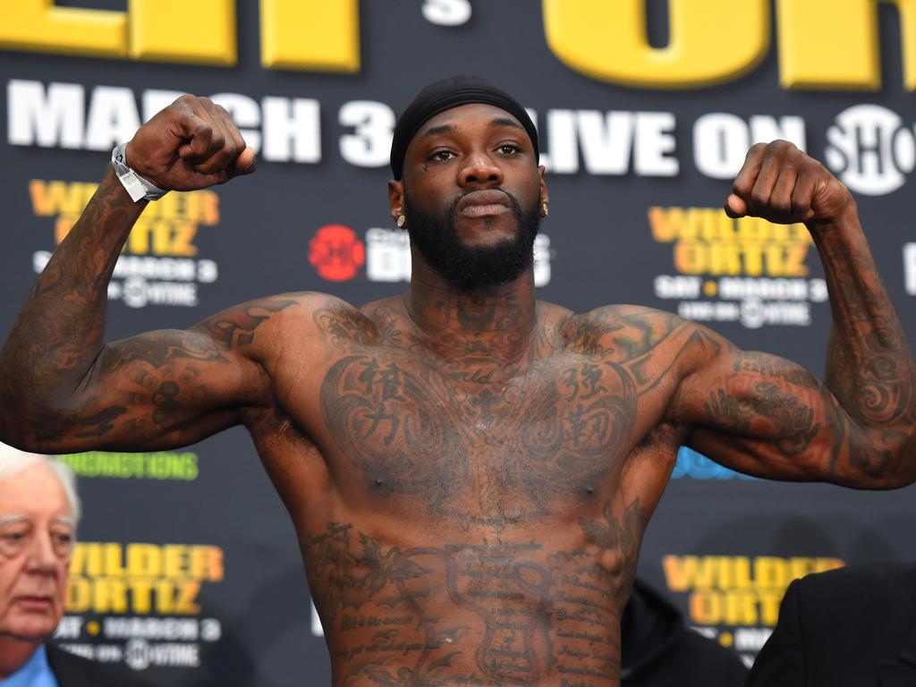 WBC heavyweight champion Deontay Wilder is angling to fight Anthony Joshua.
