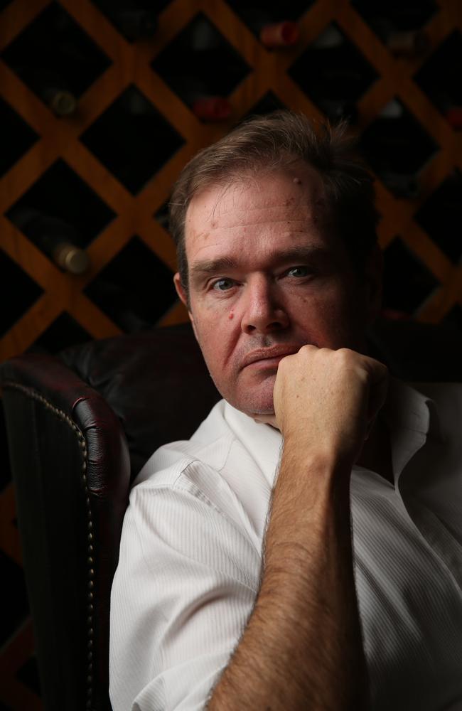 Australian author David Gillespie. Picture: David Kelly
