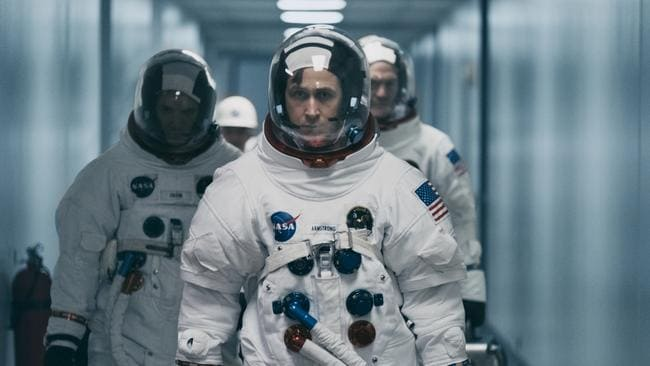 Ryan Gosling in a scene from First Man. Picture: Daniel McFadden/Universal Pictures