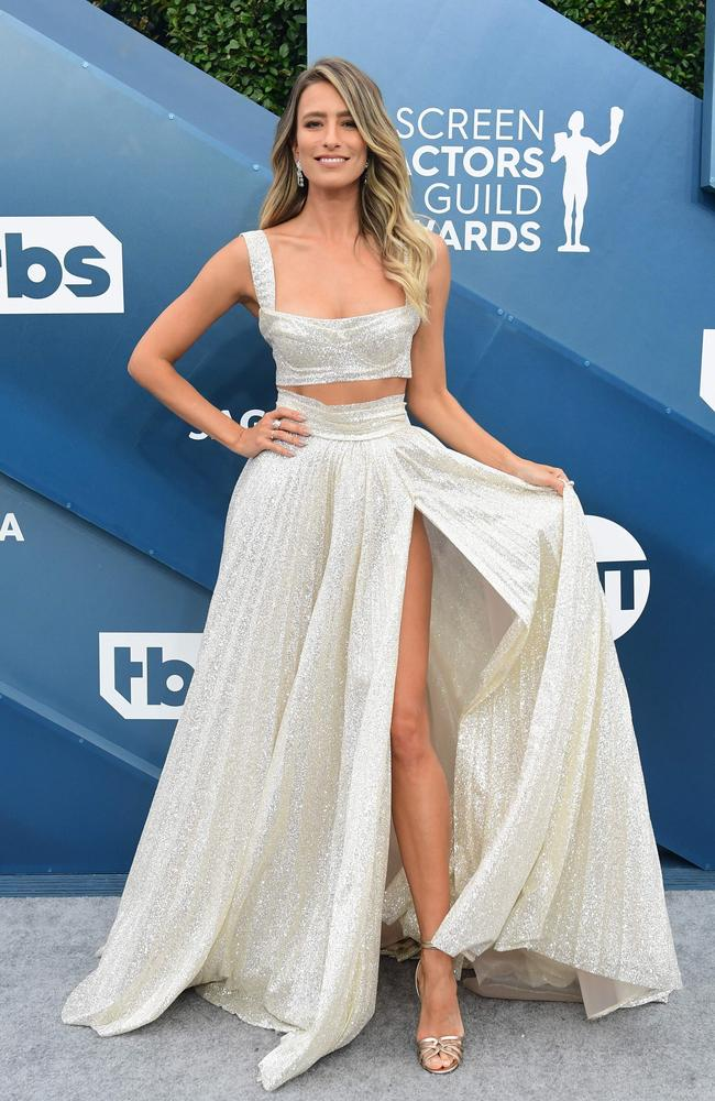 Australian TV host Renee Bargh. Picture: Frederic J. Brown/AFP