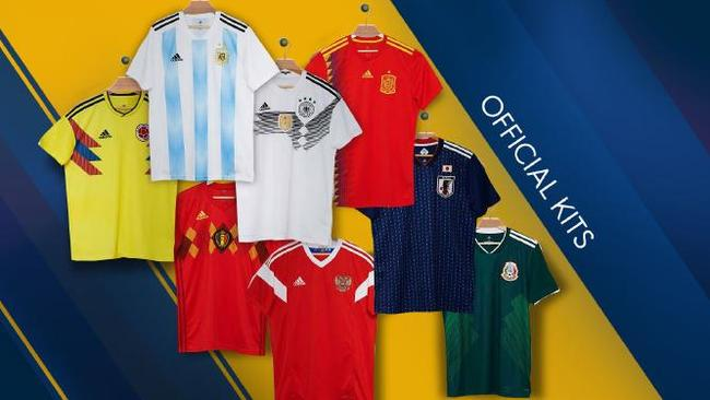 562ebc272 World Cup 2018 official kits  Spain