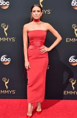 Renee Bargh attends the 68th Annual Primetime Emmy Awards on September 18, 2016 in Los Angeles, California. Picture: Getty