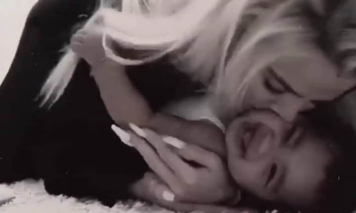 Khloe Kardashian's video of True in a fit of giggles will make your day