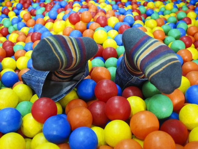 Ball pits are so filthy, a single ball can contain hundreds of thousands of bacteria.