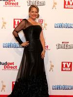 Shaynna Blaz on the red carpet at the 2015 Logie Awards at Crown Casino in Melbourne. e. Picture: Julie Kiriacoudis