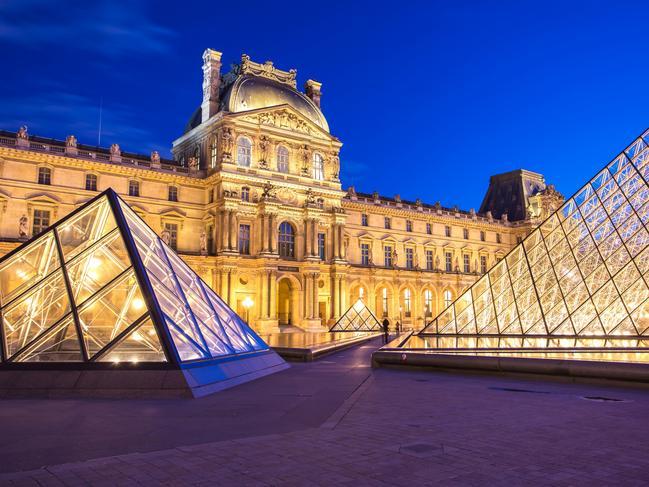 Make sure you escape the Paris cold by visiting The Louvre.