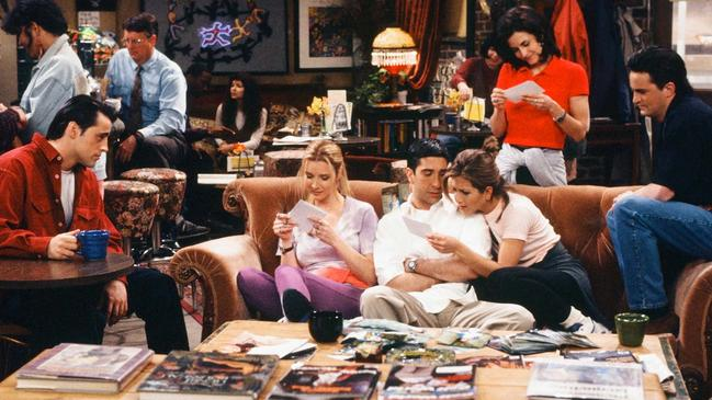 The Friends gang. Picture: NBCU Photo Bank via Getty Images