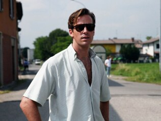 We dare you to read the book without picturing Armie Hammer as Theo now. Image: Call Me by Your Name