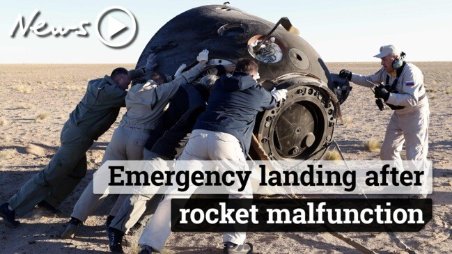 ISS rocket malfunction: two astronauts make emergency landing after boosters fail