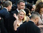 Naomi Watts and Liev Schreiber attend the 88th Annual Academy Awards on February 28, 2016 in Hollywood, California. Picture: AP