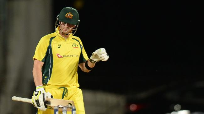 Steve Smith fell for one in the first ODI.