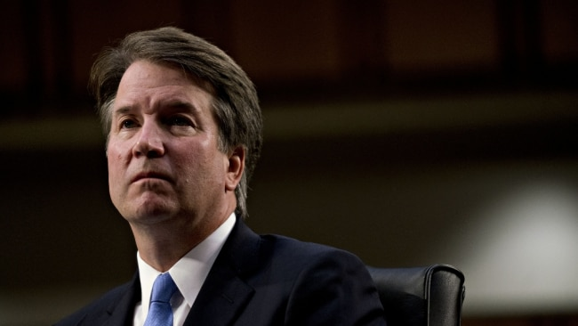 Your ex is like Brett Kavanaugh shrugging and saying people cheat. Image: Getty.