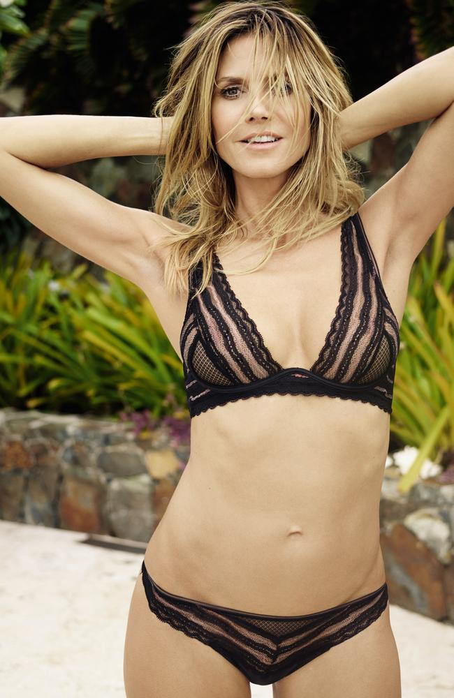 Mumma to four: Heidi Klum did well in the genetic lottery. Picture: Supplied