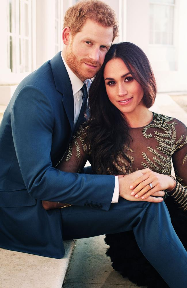 The gala will be the couple's fourth public appearance together since their engagement last month. Picture: AFP/Alexi Lubomirski