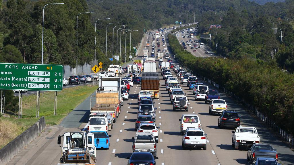 Motorists to expect heavy delays after car crash on M1