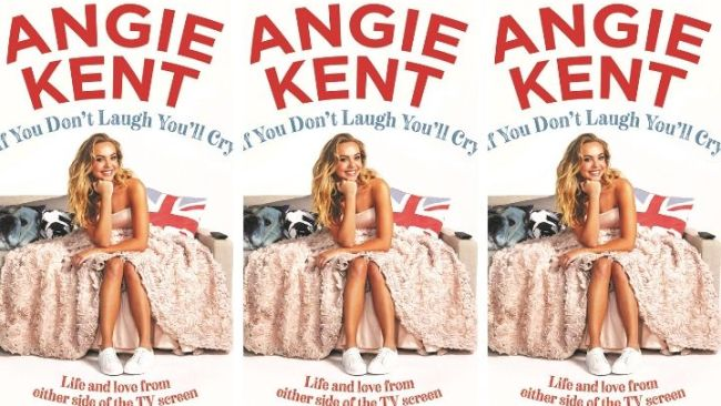 Angie's brand new book drops today. Image: Supplied