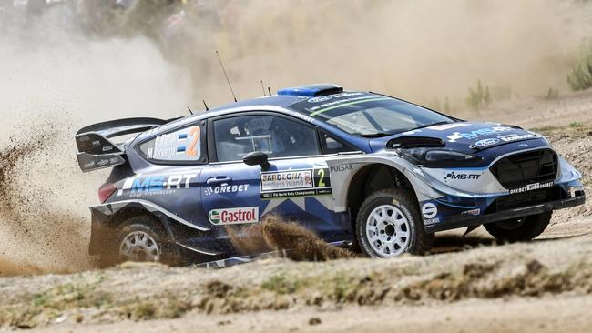 Ott Tanak took his maiden WRC event win on Rally Italia Sardegna.