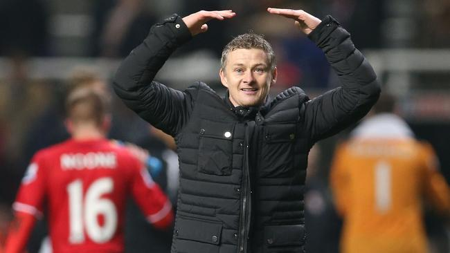 Ole Gunnar Solskjaer could be taking over at his old club. Pic: AFP