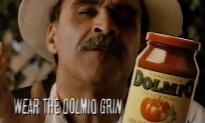 the dolmio grin