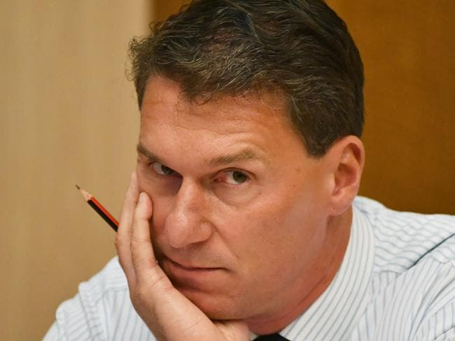 CORY Bernardi says he is proud to part of a group called 'the deplorables' who are said to be have been plotting to get Tony Abbott back into the frontbench. Picture: AAP