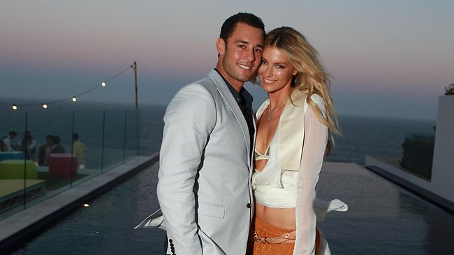 Jennifer Hawkins and Jake Wall / Pic: Cameron Richardson