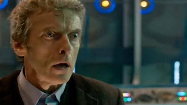 The new face of Dr. Who