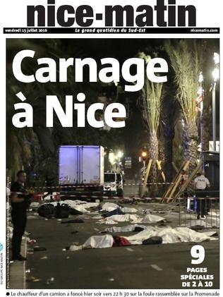 Local newspaper Nice-Matin.