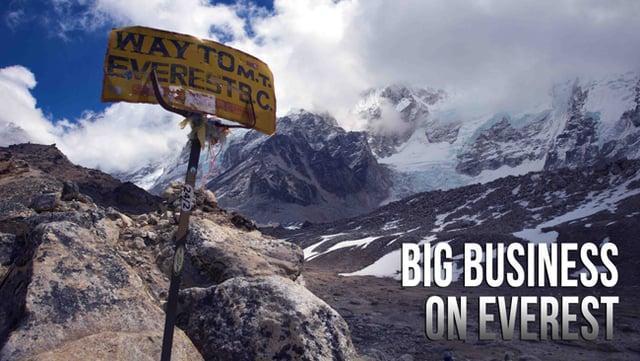 Big Business on Mt Everest