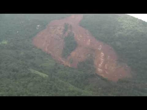 SRI LANKA: Aerial Videos Show Aftermath of Landslide in Aranayake, Sri Lanka May 18