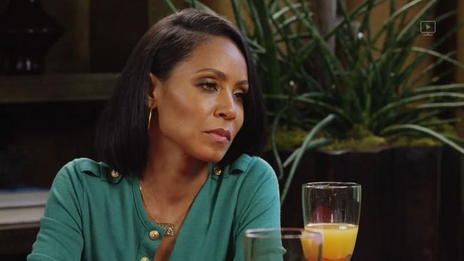Jada said she regretted dating Will while he was still married. Picture: Red Table Talk/Facebook