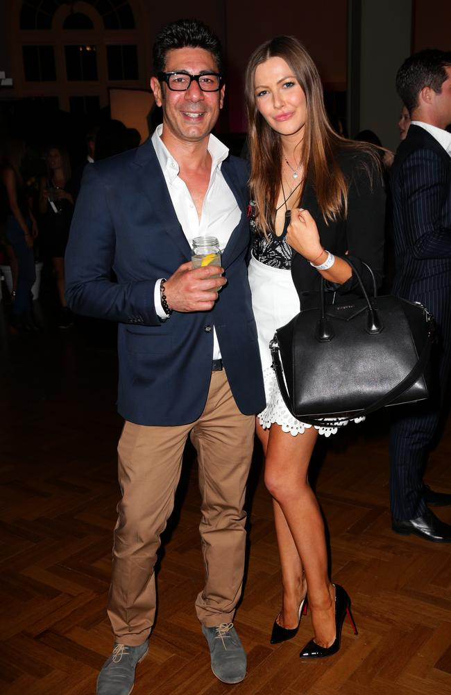 Joe Farage and Tali Shine at the 2013 Vogue Fashion's Night Out.