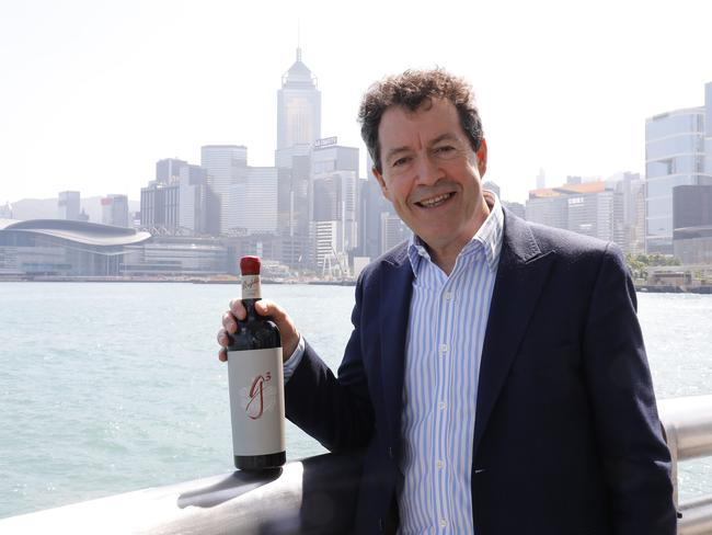 Peter Gago, chief winemaker at Penfolds.