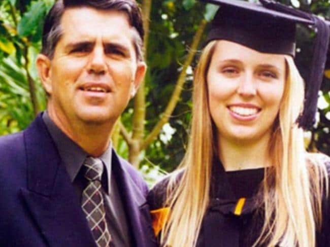 Jacinda Ardern's graduation photo has also surfaced, showing the 38-year-old used to have long blonde hair.