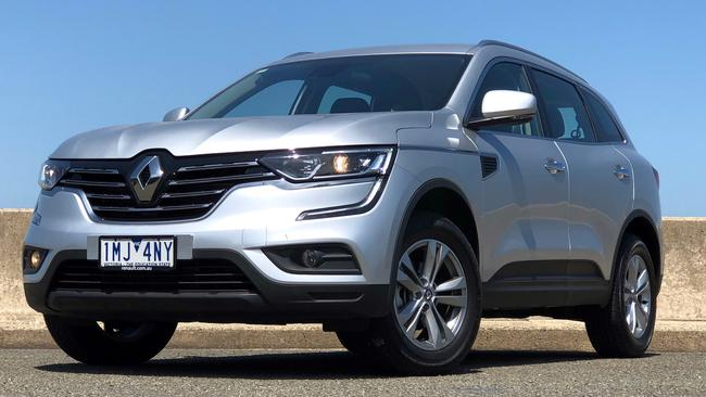 Thye Koleos competes with the popular Mazda CX-5 and RAV4. Picture: Joshua Dowling.