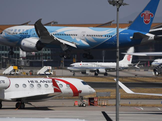 Numerous domestic airlines will suspend commercial operation of the Boeing 737 MAX 8, citing the Ethiopian Airlines crash and another deadly accident of that same model. Picture: AFP