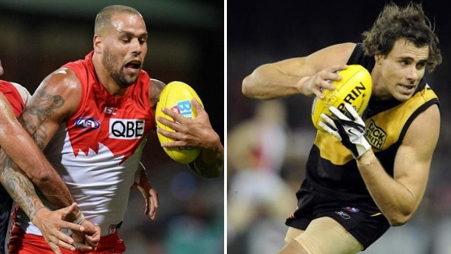 Could Lance Franklin find a new lease on life on a wing, just as Matthew Richardson did in 2008?