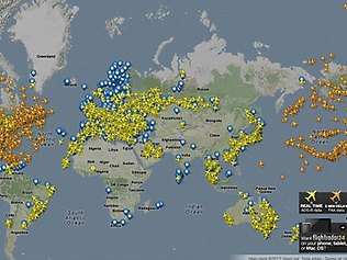 united airlines flight tracker map