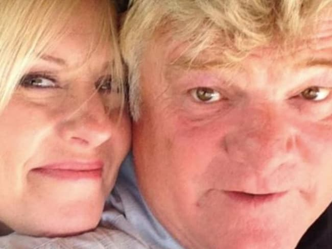 Dan Dotson and his wife, Laura appear on the reality TV show Storage Wars. Picture: Facebook