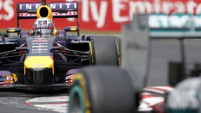 Ricciardo feared his Red Bull was about to quit.