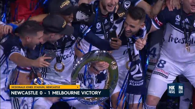 Victory crowned A-League champs